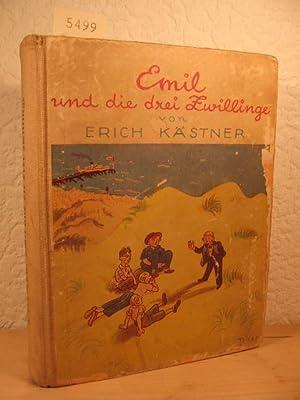 Emil und die drei Zwillinge. Die zweite Geschichte von Emil und den Detektiven.: Kästner, Erich: