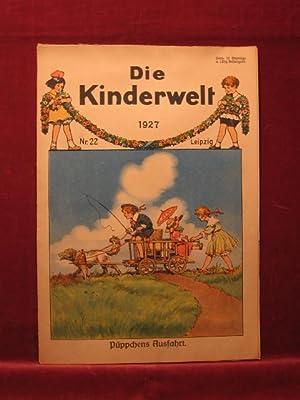 Die Kinderwelt. Jahrgang 1927, Heft Nr. 22.