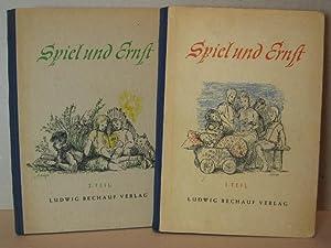 Spiel und Ernst. 1. + 2. Band. Märchen, Legenden und andere Geschichten.: Thimme, Wilhelm: