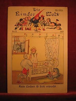 Die Kinderwelt. Jahrgang 1929, Heft Nr. 23.