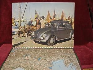 VW (Volkswagen). Gute Fahrt durchs ganze Jahr.