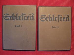 Schlesien in Farbenphotographie, Band 1 + 2.: Braune, Prof. Dr. Heinz / Hahm, Dr. Konrad: