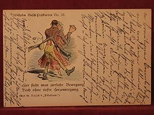 Wilhelm Busch-Postkarte No. 33.: Busch, Wilhelm: