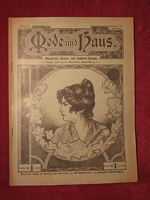 Mode und Haus. Illustriertes Moden- und Familien- Journal. 23. Jahrgang, Nr. 8.