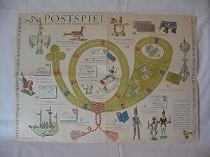Das Postspiel. Herausgegeben von der Deutschen Bundespost.: Schachenmeier, Hanna (Verse):