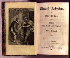 Sammelband: Edward Anderson, der Seeräuber u.a.: Herchenbach, Wilhelm: