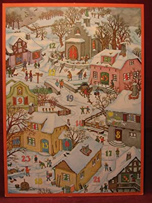 Alte Weihnachtskalender.Entdecken Sie Sammlungen Von Adventskalender Weihnachten Kunst Und