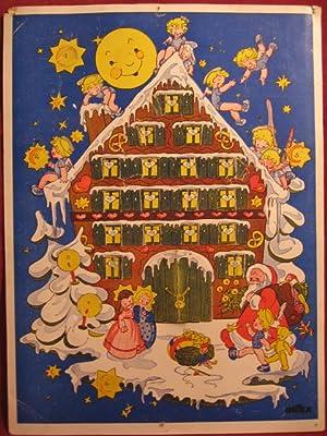 """Adventskalender """" Weihnachtshaus """"."""