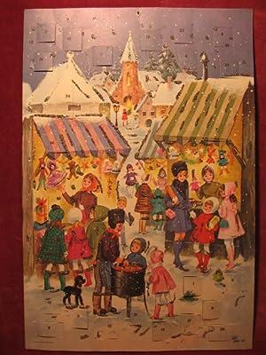 """Adventskalender """" Weihnachtsmarkt """"."""