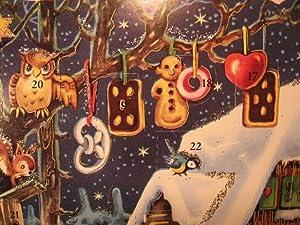 adventskalender weihnachtsmann liest wunschzettel by. Black Bedroom Furniture Sets. Home Design Ideas