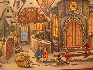 Adventskalender Weihnachtsabend.: Türr, Elfriede: