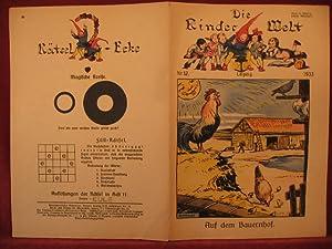 Die Kinderwelt. Jahrgang 1933, Heft Nr. 12.