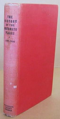 Centennial History of Matamata Plains: VENNELL, C. W.