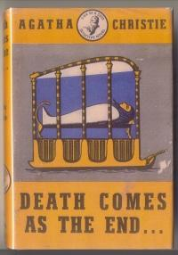 Image result for death comes to the end first edition