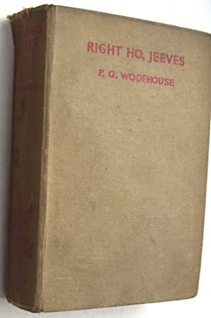 Right Ho Jeeves: PG Wodehouse