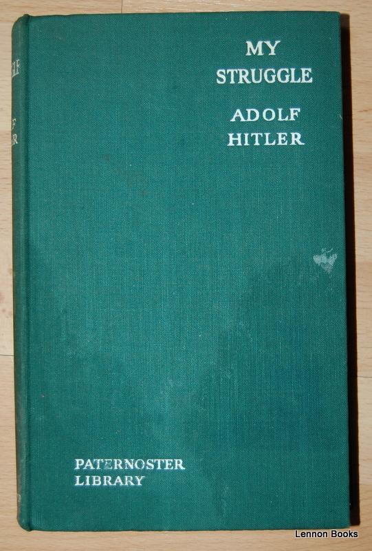 My Struggle Adolf Hitler Book