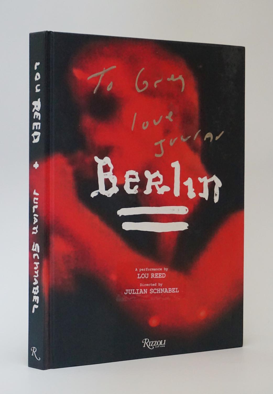 Berlin Schnabel, Julian and Lou Reed Near Fine Hardcover