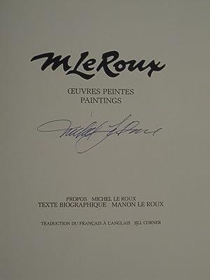 M Le Roux Oeuvres Peintes- Paintings: LE ROUX, M.