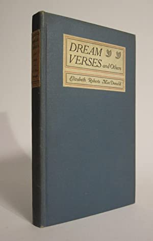 Dream Verses and Others: MACDONALD, ELIZABETH ROBERTS