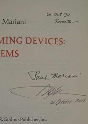 Timing Devices: Poems: MARIANI, PAUL