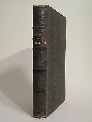 FABLES DE S. LAVALETTE ILLUSTREES PAR GRANDVILLE: LAVALETTE (Illustrated by