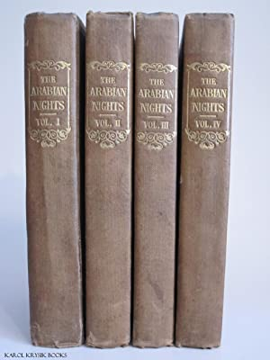 THE ARABIAN NIGHTS' ENTERTAINMENTS: Consisting of One Thousand and One Stories. In Four ...
