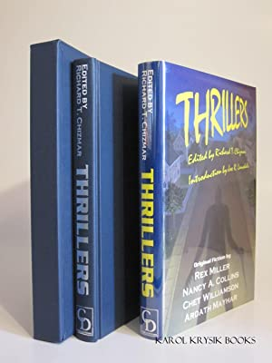 Thrillers (Signed by Contributors): CHIZMAR, RICHARD [ed.]; MILLER, REX; COLLINS, NANCY A.; ...