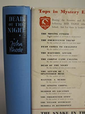 Dead of the Night: RHODE, JOHN