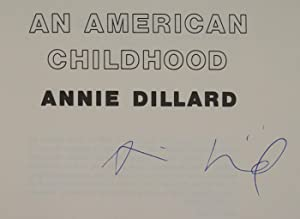 An American Childhood: DILLARD, ANNIE