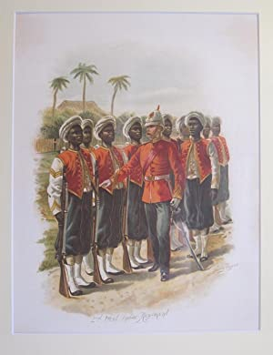 On Service At Home and Abroad (Single Lithograph Only- 2nd West India Regiment): GROVES, J. PERCY