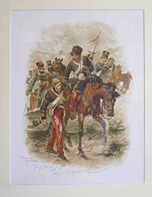 "On Service At Home and Abroad (Single Lithograph Only - ""Those Who Had Fought So Well"" ..."