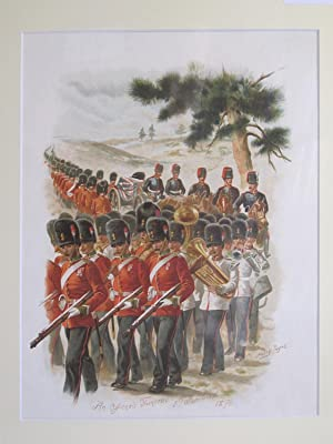 "On Service At Home and Abroad (Single Lithograph Only - ""An Officer's Funeral"" 5th ..."