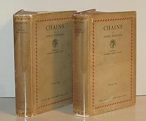 Chains (2 Volumes): BARBUSSE, HENRI