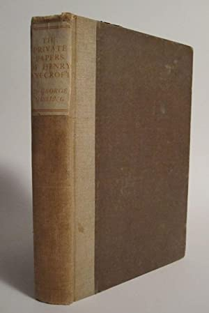The Private Papers of Henry Ryecroft: GISSING, GEORGE