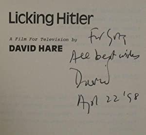 Licking Hitler: A Film for Television: Hare, David