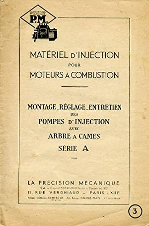 Matériel d'Injection pour Moteurs à Combustion, Montage