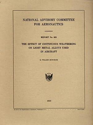 NACA Report No. 663, The Effect of: Mutchler, Willard (National