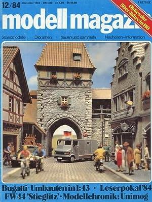 Modell Magazin - 1984 Heft 12, Fw