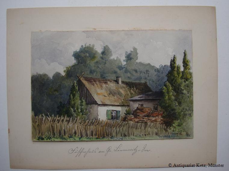 """Potsdam - Großer Lienewitzsee - """"Fischerhaus am"""
