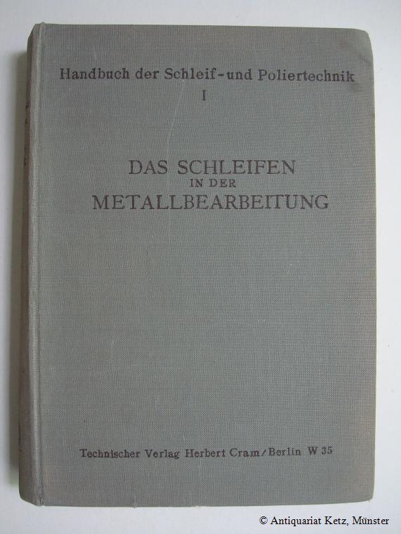 handbuch der metallbearbeitung - ZVAB