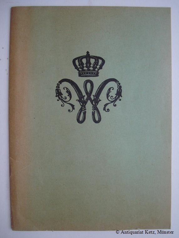 Mitgliederverzeichnis der Vereinigung der Offiziere des ehem(aligen): Ernst August: