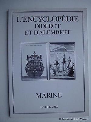 L'Encyclopedie. Marine. Recueil de planches sur les: Diderot et d'Alembert: