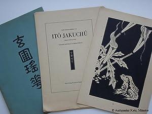 Zwölf Schwarzweißblätter von Ito Jakuchu (Japan 1716: Feddersen, Martin: