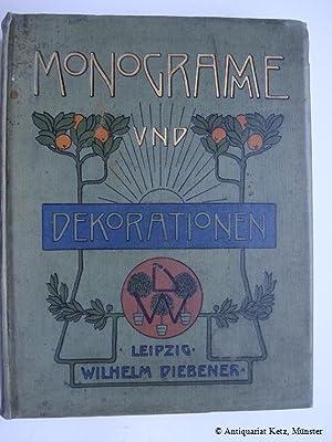Monogramme und Dekorationen für Uhren und Edelmetall-Gravierung: Diebener, Wilhelm: