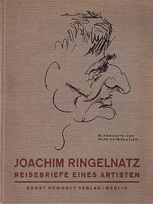 Reisebriefe eines Artisten.: Ringelnatz, Joachim (d.i. Hans Bötticher):