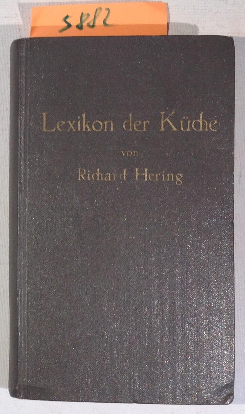 richard hering - lexikon der kueche - ZVAB
