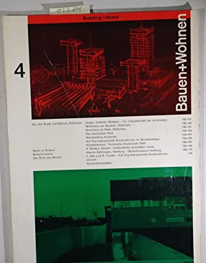 Bauen+Wohnen / Building+Home / Construction+Habitation April 1963, Heft 4 - Van den Broek und Bak...
