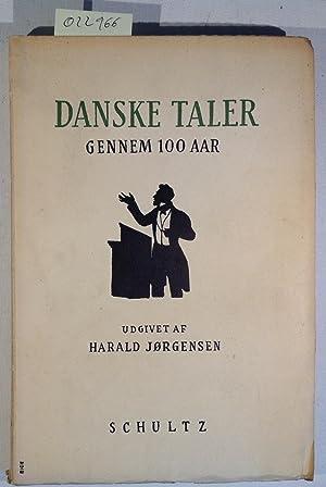 Danske RTaler Gennem 100 Aar: Jørgensen, Harald -