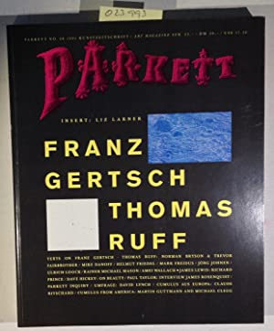 Parkett 28 1991 [Gertsch/Ruff] (Parkett Art Magazine, No 28, 1991)