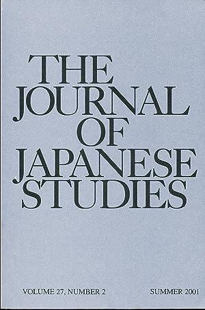 The Journal of Japanese Studies (Summer, 2001): Hanley, Susan and